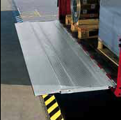 Tail board ramp