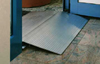Wheelchair threshold ramp