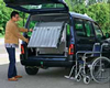 Wheelchair van ramp