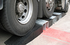 Polymer/rubber Hose ramps